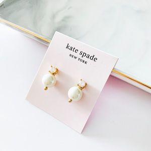 ❗️LAST 1❗️Kate Spade Dainty Pearl Crystal Earrings